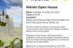 LNG Project Open House & Review Next Tuesday