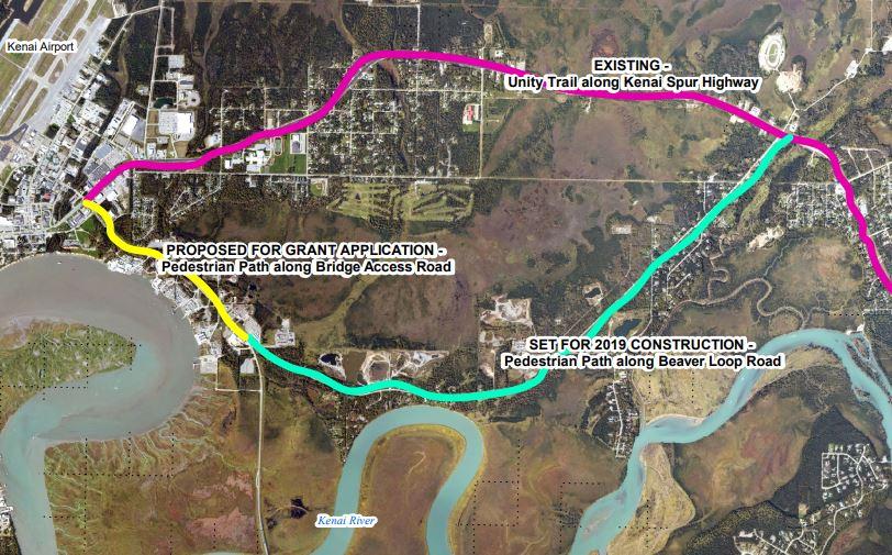 City Of Kenai Awarded Grant For Bridge Access Bike Path – Radio Kenai
