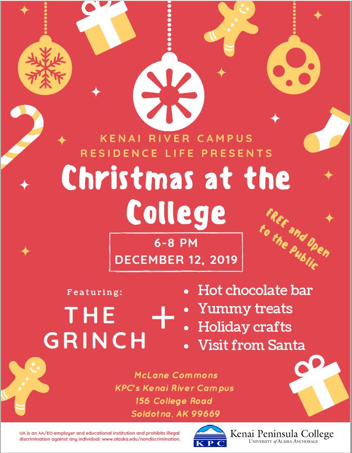 Christmas at the College @ Kenai Peninsula College, McLane Commons