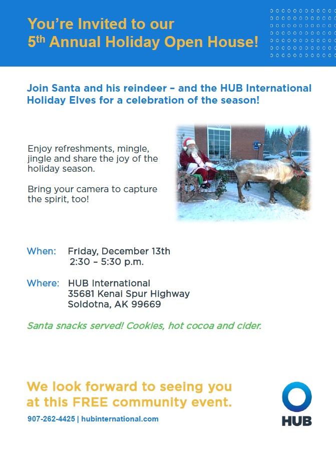 Holiday Open House @ HUB International